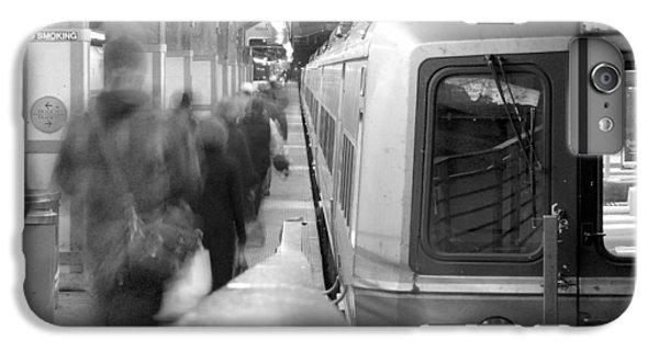 Train iPhone 6 Plus Case - Metro North/ct Dot Commuter Train by Mike McGlothlen