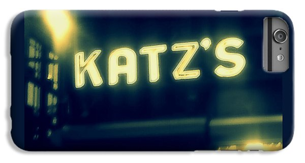 Nyc's Famous Katz's Deli IPhone 6 Plus Case by Paulo Guimaraes