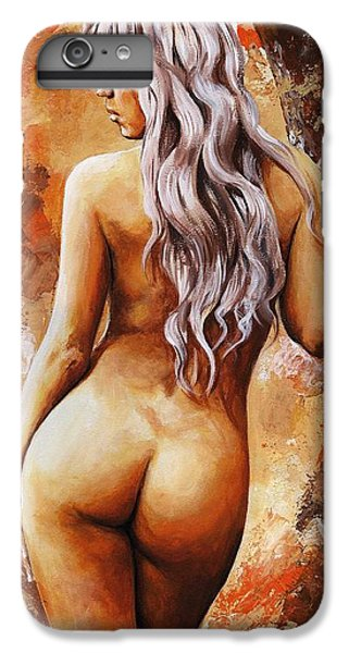 Nymph 02 IPhone 6 Plus Case by Emerico Imre Toth