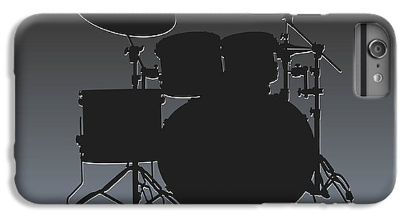 Oakland Raiders Drum Set IPhone 6 Plus Case by Joe Hamilton
