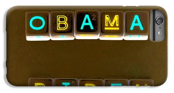 Obama Biden Words. IPhone 6 Plus Case by Oscar Williams