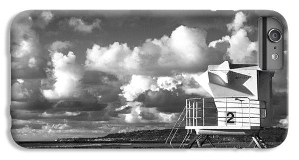 Ocean Beach Lifeguard Tower IPhone 6 Plus Case by Nathan Rupert