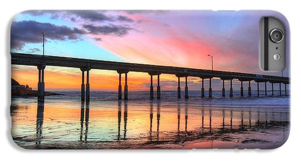 Ocean Beach Sunset IPhone 6 Plus Case by Nathan Rupert