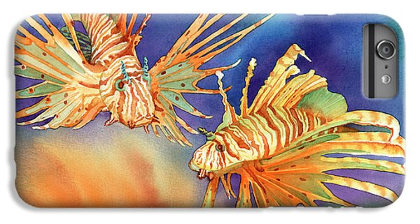 Ocean Lions IPhone 6 Plus Case by Tracy L Teeter