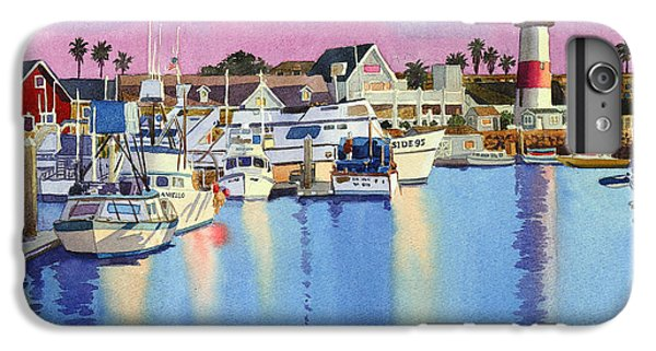 Pacific Ocean iPhone 6 Plus Case - Oceanside Harbor At Dusk by Mary Helmreich