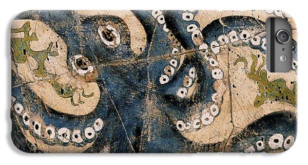 Bogdanoff iPhone 6 Plus Case - Octopus - Study No. 1 by Steve Bogdanoff