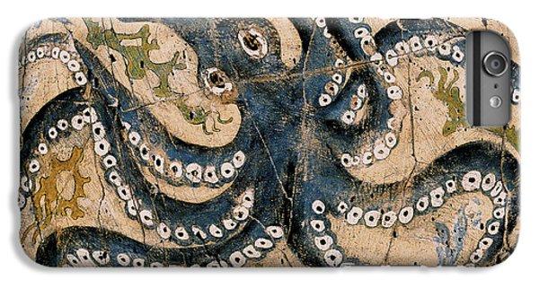 Bogdanoff iPhone 6 Plus Case - Octopus - Study No. 2 by Steve Bogdanoff