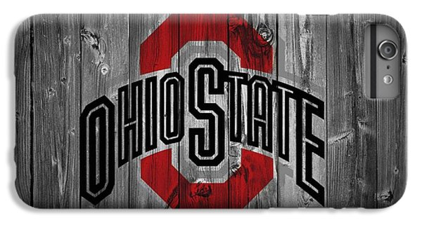 Basketball iPhone 6 Plus Case - Ohio State University by Dan Sproul