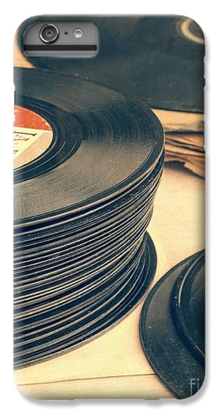 Music iPhone 6 Plus Case - Old 45s by Edward Fielding
