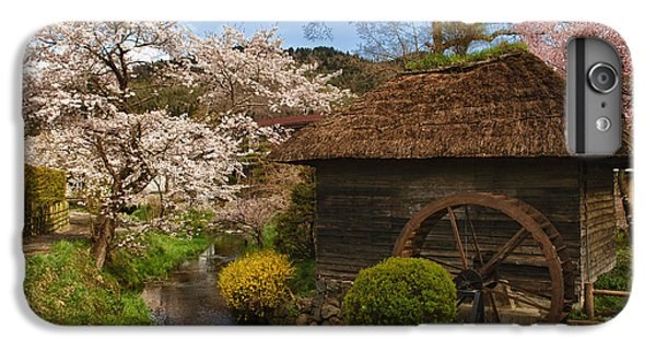 Old Cherry Blossom Water Mill IPhone 6 Plus Case
