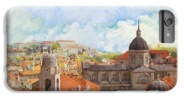 Fantasy iPhone 6 Plus Case - Old City Of Dubrovnik by Catf