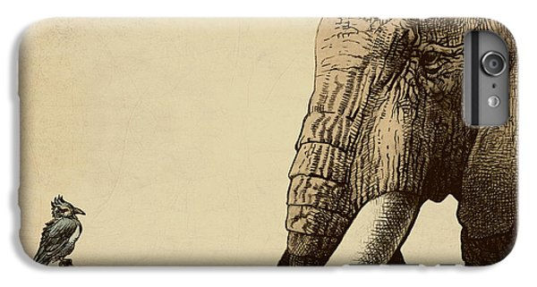 Africa iPhone 6 Plus Case - Old Friend by Eric Fan
