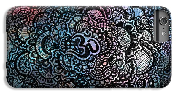 Decorative iPhone 6 Plus Case - Om Sweet Om by Andrea Stephenson