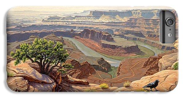 Raven iPhone 6 Plus Case - On The Rim-dead Horse Point by Paul Krapf