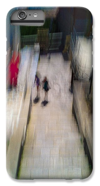 IPhone 6 Plus Case featuring the photograph On The Stairs by Alex Lapidus