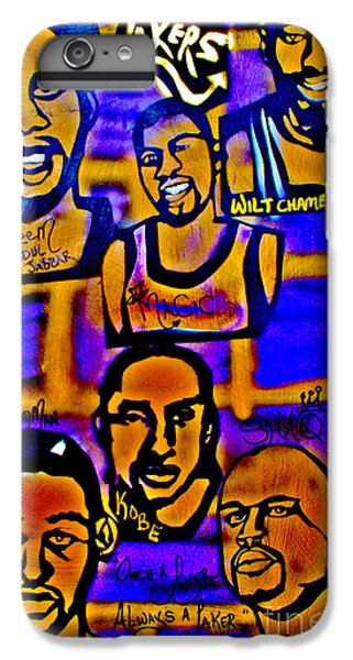 Once A Laker... IPhone 6 Plus Case by Tony B Conscious
