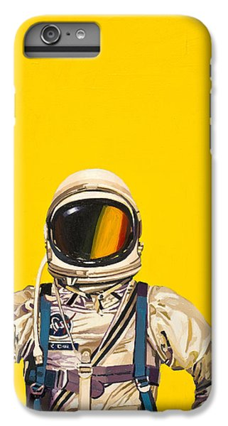 IPhone 6 Plus Case featuring the painting One Golden Arch by Scott Listfield