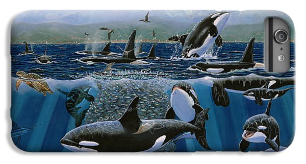 Orca Play Re009 IPhone 6 Plus Case by Carey Chen