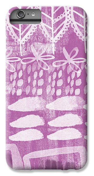 Orchid Fields IPhone 6 Plus Case by Linda Woods