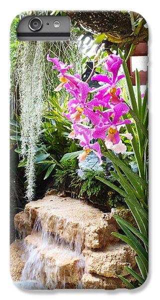 Orchid Garden IPhone 6 Plus Case by Carey Chen