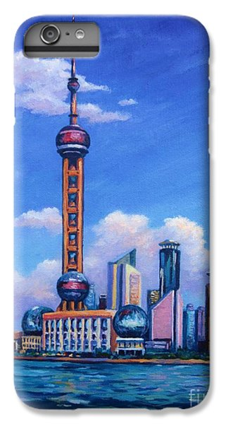 Oriental Pearl Shanghai IPhone 6 Plus Case by John Clark
