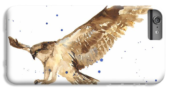 Osprey Painting IPhone 6 Plus Case by Alison Fennell