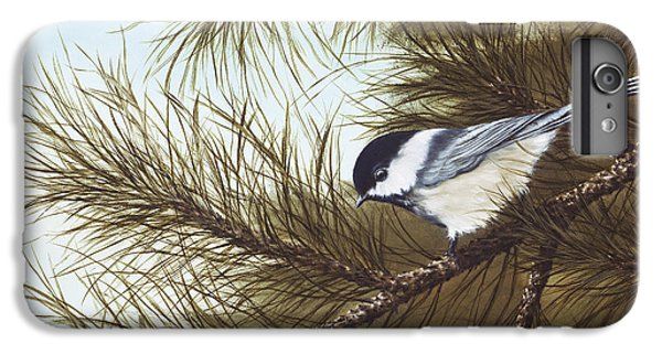 Chickadee iPhone 6 Plus Case - Out On A Limb by Rick Bainbridge