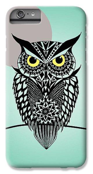Owl 5 IPhone 6 Plus Case by Mark Ashkenazi