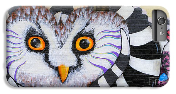 IPhone 6 Plus Case featuring the photograph Owl Mural by Ricky L Jones