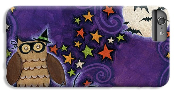 Owl With Mask IPhone 6 Plus Case by Anne Tavoletti