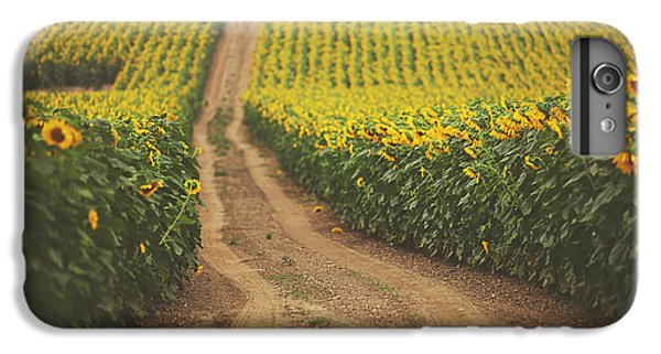 Sunflower iPhone 6 Plus Case - Oz by Carrie Ann Grippo-Pike