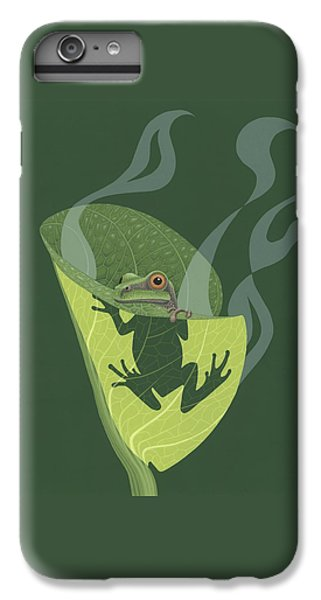 Pacific Tree Frog In Skunk Cabbage IPhone 6 Plus Case