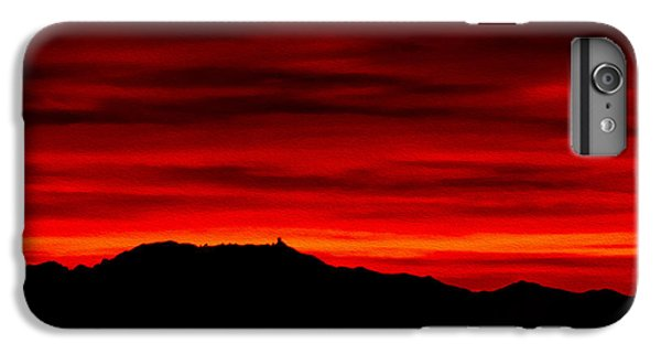 IPhone 6 Plus Case featuring the photograph Painted Sky 36 by Mark Myhaver