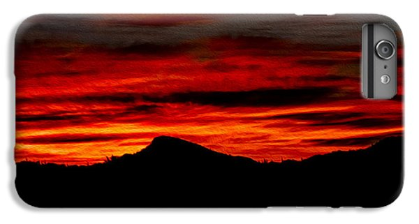 IPhone 6 Plus Case featuring the photograph Painted Sky 45 by Mark Myhaver