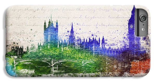 Palace Of Westminster IPhone 6 Plus Case by Aged Pixel
