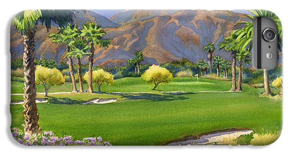 Palm Springs Golf Course With Mt San Jacinto IPhone 6 Plus Case by Mary Helmreich