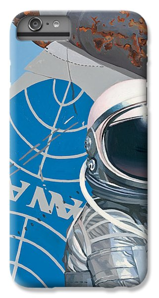 IPhone 6 Plus Case featuring the painting Pan Am by Scott Listfield