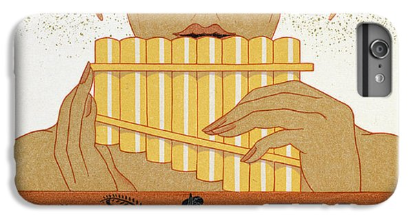 Pan Piper IPhone 6 Plus Case by Georges Barbier