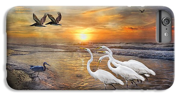 Paradise Dreamland  IPhone 6 Plus Case by Betsy Knapp