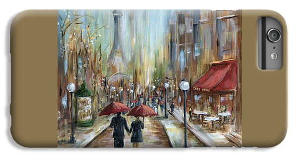 Paris Lovers Ill IPhone 6 Plus Case by Marilyn Dunlap