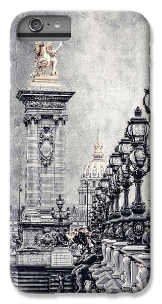 Pegasus iPhone 6 Plus Case - Paris Pompous 2 by Joachim G Pinkawa