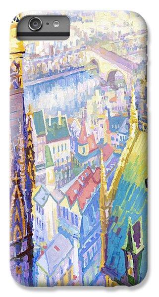 Paris Shadow Notre Dame De Paris IPhone 6 Plus Case by Yuriy  Shevchuk