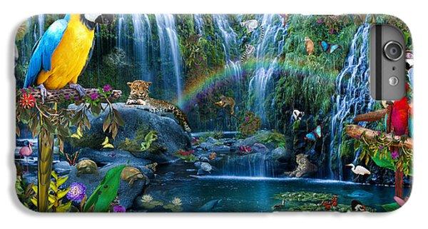 Macaw iPhone 6 Plus Case - Parrot Tropics by Alixandra Mullins