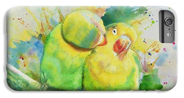 Parakeet iPhone 6 Plus Case - Parrots by Catf