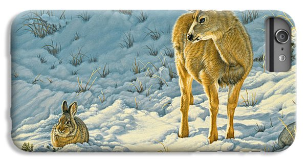 Deer iPhone 6 Plus Case - Passing Curiosity by Paul Krapf