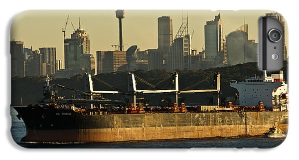 IPhone 6 Plus Case featuring the photograph Passing Sydney In The Sunset by Miroslava Jurcik