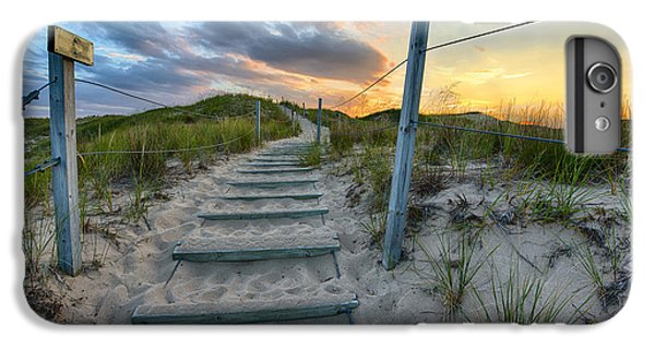 Path Over The Dunes IPhone 6 Plus Case by Sebastian Musial