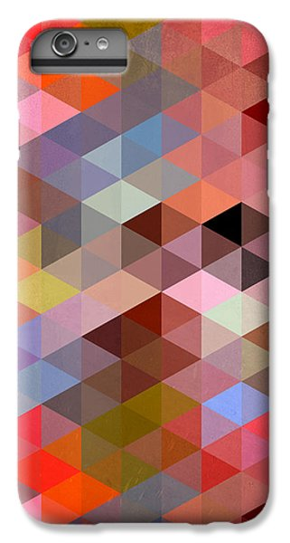 Pattern Of Triangle IPhone 6 Plus Case by Mark Ashkenazi