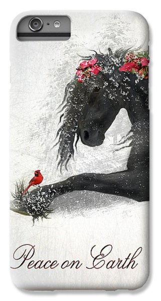 Cardinal iPhone 6 Plus Case - Peace On Earth by Fran J Scott