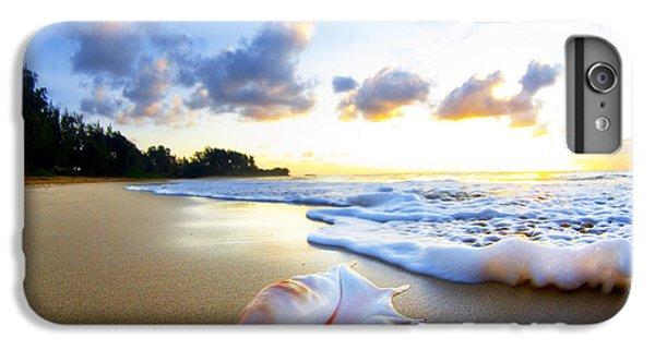 Beach iPhone 6 Plus Case - Peaches N' Cream by Sean Davey